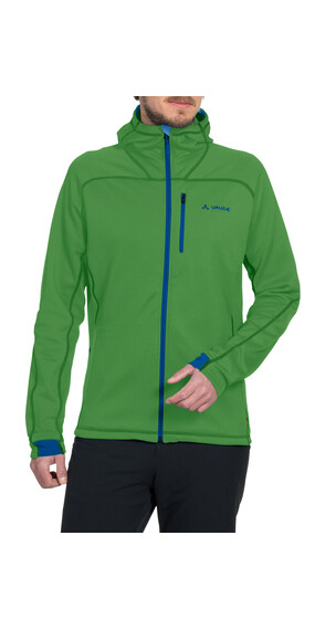 VAUDE Valluga II Fleece Jacket Men parrot green